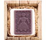 Bohemia Gifts & Cosmetics Natur Selka 3D ručně vyráběné mýdlo v krabičce 85 g
