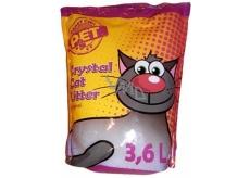 Silica Happy Cool Pet Original Stelivo vysoce absorpční ekologické silikonové pro kočky 3,6 l