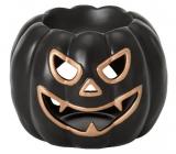 Yankee Candle Halloween Pumpkin aromalampa černá 130 x 160 mm