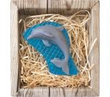 Bohemia Gifts & Cosmetics Delfín ručně vyráběné toaletní mýdlo v krabičce 45 g