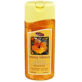 Kappus Orange Hibiscus - Ibištek 2v1 sprchový gél 300 ml