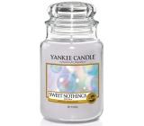 Yankee Candle Sweet Nothings - Sladké nic vonná svíčka Classic velká sklo 623 g