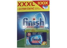 Finish All in 1 Deep Clean tablety do myčky 100 kusů + Finish Lemon Sparkle čistič myčky 250 ml, duopack