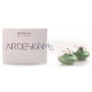 Millefiori Air Design Difuzér kvetina mini zelená 2 kusy