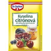 Dr. Oetker Kyselina citrónová do potravín 20 g
