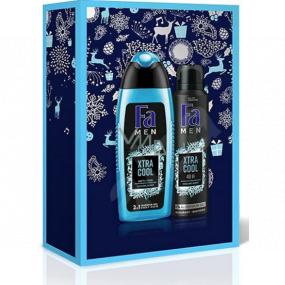 Fa Men Xtra Cool sprchový gél 250 ml + dezodorant sprej 150 ml, kozmetická sada