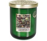 Heart & Home Vôňa vianočného stromčeka Sójová vonná sviečka veľká horí až 70 hodín 340 g