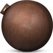 Novus Píla balančné sedacie loptu, umelá koža, hnedý 65 cm