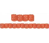 Girlanda Halloween tekvica oranžová 400 x 11,5 cm