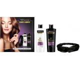 TRESemmé Biotín Repair7 šampón pre ochranu a obnovu vlasov 400 ml + kondicionér pre ochranu a obnovu vlasov 400 ml + čelenka, kozmetická sada