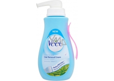 Veet Aloe Vera Vitamínom E depilačný krém na citlivú pokožku 400 ml pumpička