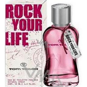 Tom Tailor Rock Your Life for Woman toaletná voda 40 ml