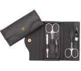 Kellermann 3 Swords Luxusní manikúra 5 dílná Genuine Leather z pravé kůže L57201FN