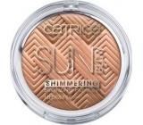 Catrice Sun Glow Shimmering Powder třpytivý pudr 010 Shimmering Bronze 9 g