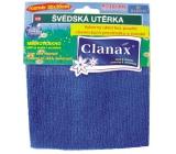 Clanax Švédska utierka mikrovlákno 30 x 30 cm, 205 g 1 kus
