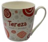 Nekupto Twister hrnek se jménem Tereza červený 0,4 litru 074 1 kus
