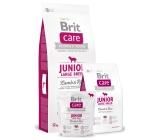 Brit Care Junior Jahňacie + ryža pre šteňatá a mladých psov od 3 mesiacov do 2,5 rokov veľkých plemien nad 25 kg 3 kg