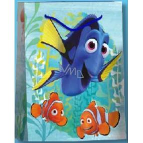 BSB Disney Dárková papírová taška dětská 32,4 x 26 x 12 cm Hledá se Dory DT L