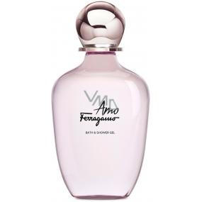 Salvatore Ferragamo Amo Ferragamo sprchový gel pro ženy 200 ml