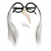 Okuliare s nosom čarodějnickéú halloween 1010