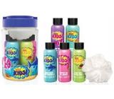 Baylis & Harding Kids Pena do kúpeľa 100 ml 2 kusy + 2 x umývací gél 100 ml + 1 x sprchový krém 100 ml + umývacie hubka, kozmetická sada