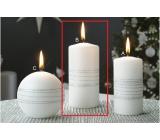 Lima Exclusive sviečka strieborná valec 60 x 120 mm 1 kus