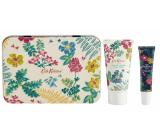 Heathcote & Ivory Twilight Garden krém na ruky 50 ml + balzam na pery 10 ml, kozmetická sada