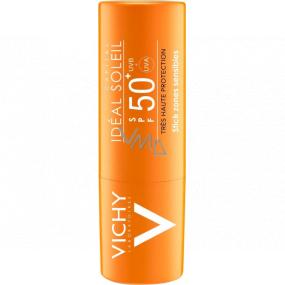 Vichy Ideál Soleil SPF 50+ tyčinka citlivé partie a pery 9 g