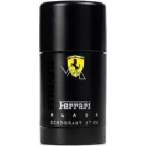 Ferrari Black dezodorant stick pre mužov 75 ml