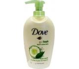 Dove Go Fresh Touch Uhorka & Zelený čaj tekuté mydlo s dávkovačom 250 ml