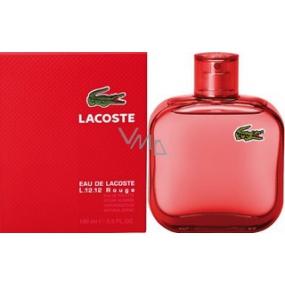 Lacoste Eau de Lacoste L.12.12 Rouge toaletní voda pro muže 100 ml