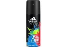 Adidas Team Five dezodorant sprej pre mužov 150 ml