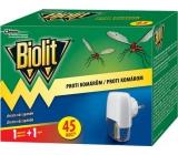 Biolit Proti komárom elektrický odparovač s tekutou náplňou 45 nocí strojček + náplň 27 ml