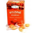 Dr. Popov Bylinné cukríky Rakytník s vitamínom C pre zdravé maškrtenie 70 g