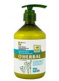 O Herbal Ľan kondicionér pre suché a poškodené vlasy 500 ml