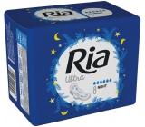 Ria Ultra Night nočné hygienické vložky s krídelkami 8 kusov