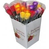 NeoCos Mydlová ruže v celofáne mix 4 g 1 kus