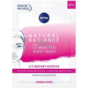 Nivea Textilné maska 1ks Natural Radiance rozjasní. 5492
