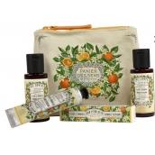 Panier des Sens Pomarančový kvet sprchový gél 50 ml + telové mlieko 50 ml + toaletná voda 3,5 ml + krém na ruky 30 ml, cestovné darčeková sada