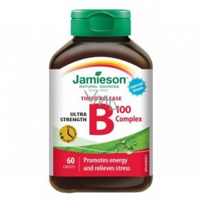 Jamieson B-komplex s postupným uvoľňovaním 100 mg doplnok stravy 60 kapslí