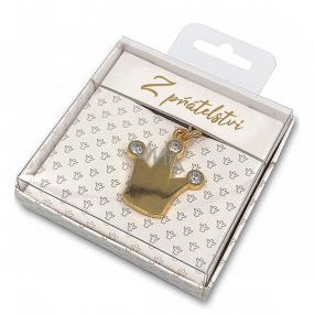 Nekupto Darčeková kľúčenka pre šťastie Z priateľstva 4 cm