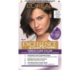 Loreal Paris Excellence Cool Creme farba na vlasy 5.11 Ultra popolavá svetlá hnedá
