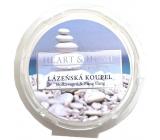Heart & Home Kúpeľná kúpeľ Sójový prírodný voňavý vosk 26 g