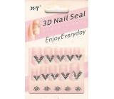 Nail Seal 3D nálepky na nechty 1 aršík 152A 1 aršík