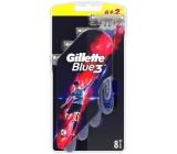 Gillette Blue 3 holítka 3 břity pro muže 8 kusů
