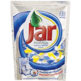 Jar Platinum Lemon Kapsle do myčky nádobí 40 kusů