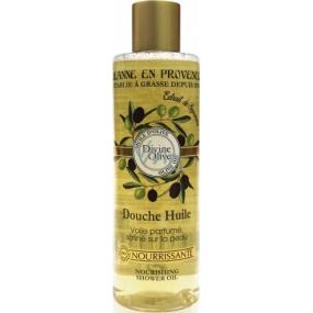 Jeanne en Provence Divine Olive sprchový olej pre ženy 250 ml
