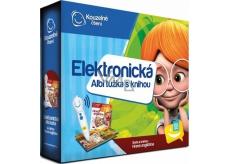 Albi Kúzelné čítanie Ceruzka elektronická + interaktívna hovoriace kniha Hravá angličtina, sada