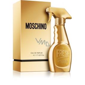 Moschino Fresh Gold toaletná voda pre ženy 5 ml, Miniatúra