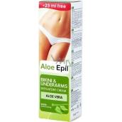 Aloe Epil Bikini & Underarms depilační krém pro oblasti podpaží a bikin 125 ml